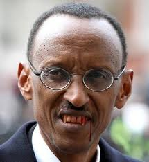 LETTER FROM THE NORTH: A PREACHER'S ADVICE TO THE MANIATIC KILLER OF RWANDANS, PAUL KAGAME. kagame-the-vampire