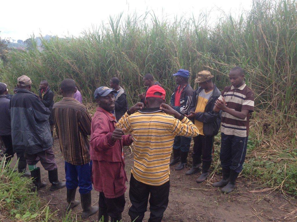 Hano Abacunguzi ba FDLR bari biteguye kwakira abanyamakuru ba Aljazeera