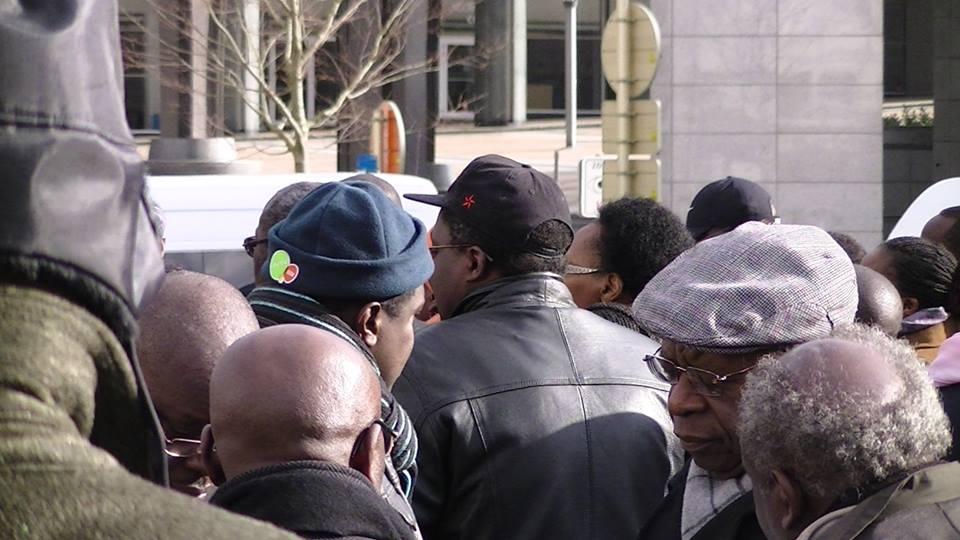 Les rwandais de Bruxelles ont manifesté pour la libération de Victoire Ingabire