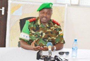 LT Gén Silas Ntigurirwa niwe ubu uyobora ingabo za AMISOM