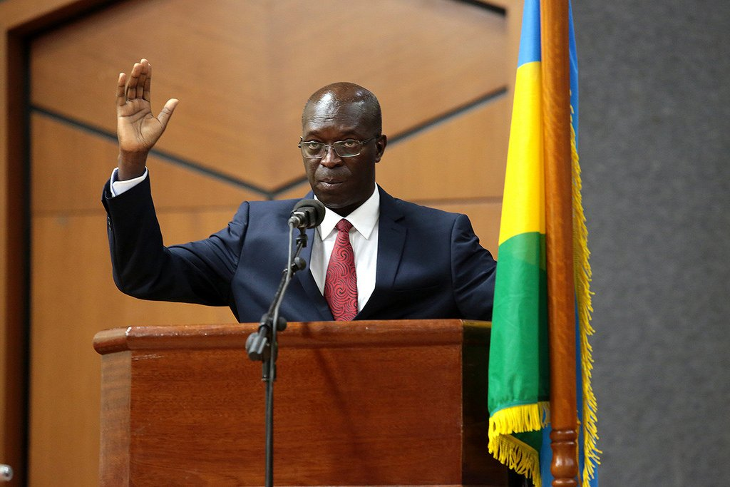 Anastase Murekezi, ministre w'intebe mushya arahira