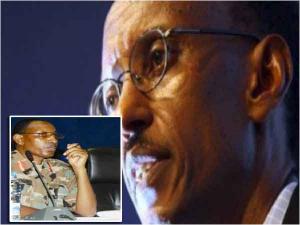 Jack Nziza na Paul Kagame, abakuru b'amashitani yo muri DMI
