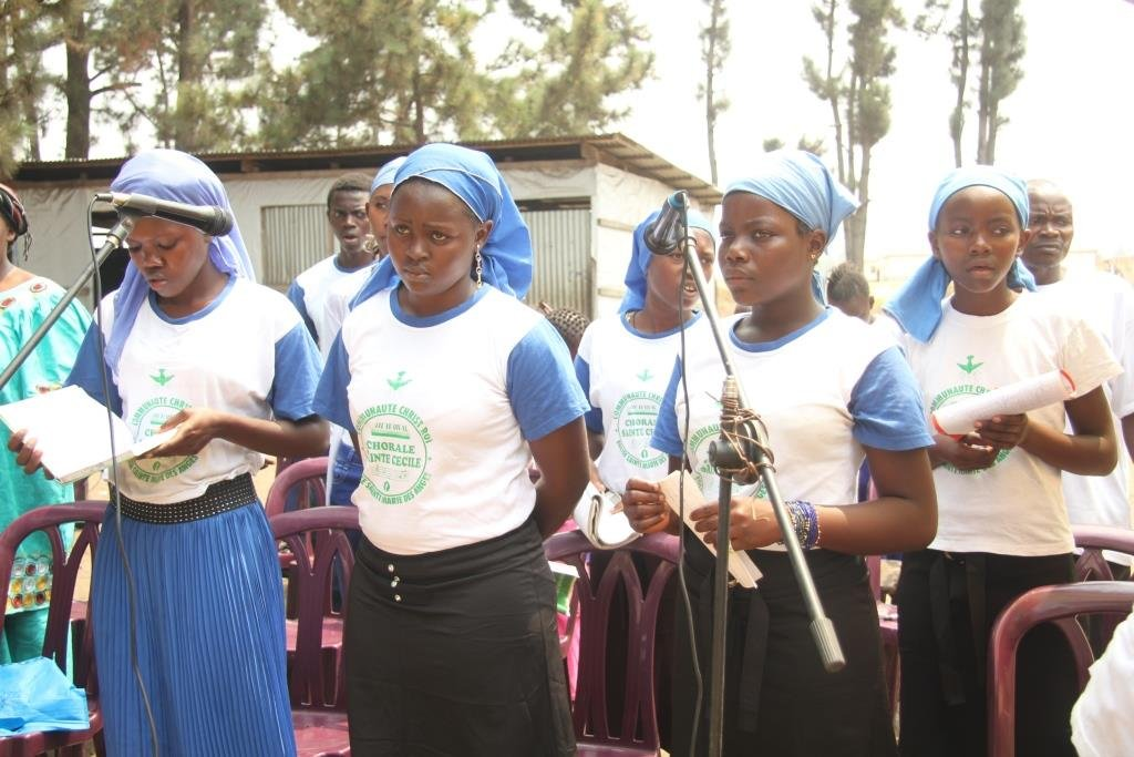 Chorale Sainte Cécile (abenegihugu)