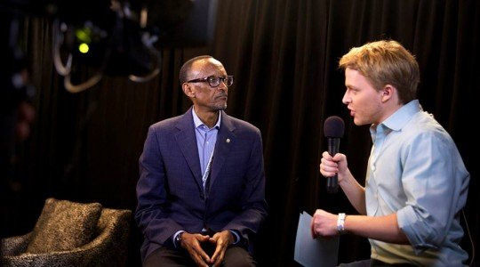 USA: PAUL KAGAME IS TIRED OF ANSWERING QUESTIONS ABOUT KILLINGS HIS OPPONENTS!!!