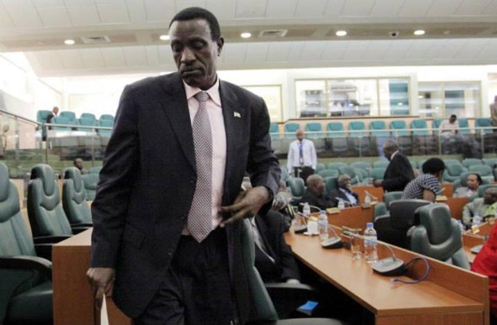 Ntawukuriryayo Jean Damascène quitte son siège de président du Sénat