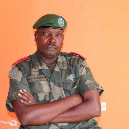 General Jonas Moustapha Mukiza yahawe kuyobora 'zone ya defense' ya Lubumbashi.