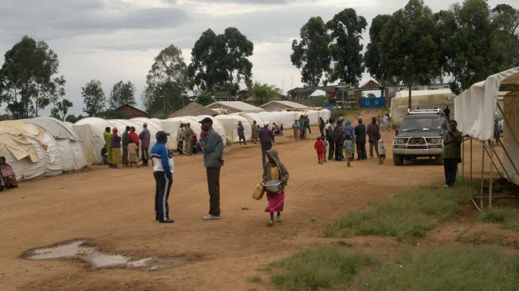 les Ex combattants FDLR au camp de kanyabayonga
