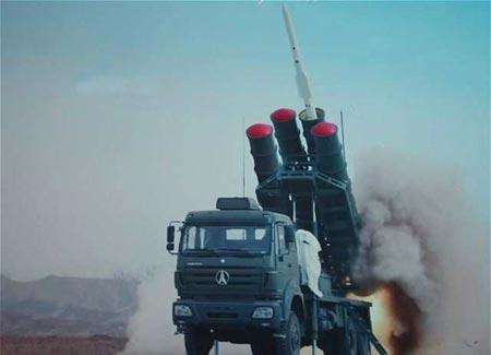 Missile de défense TL-50 récemment achetée par le Rwanda
