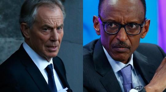 FOREIGN OFFICE: BLAIR'S LINKS TO RWANDAN PRESIDENT KAGAME MUST REMAIN SECRET.
