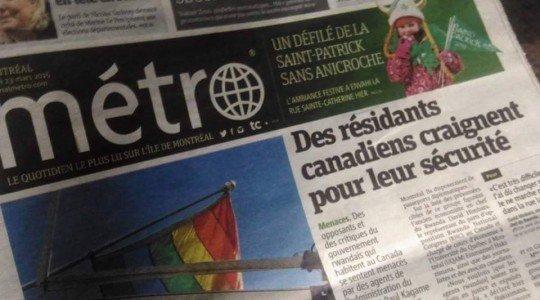CANADA-RWANDA: DES RESIDENTS CANADIENS CRAIGNENT POUR LEUR SÉCURITÉ.