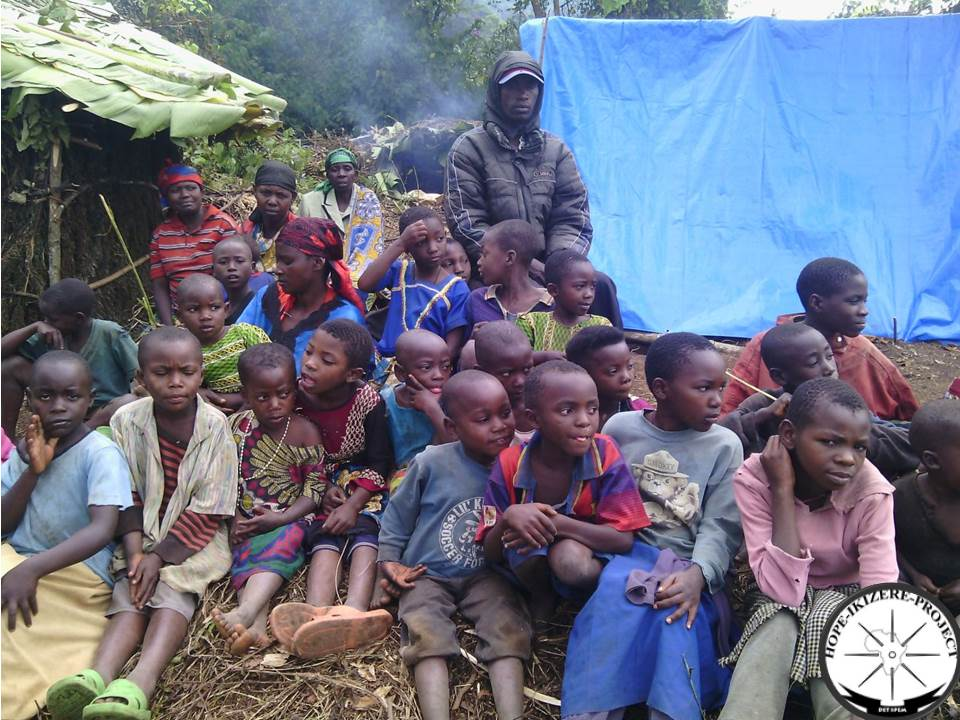 These children were in Bibwe camp, seen on the above picture