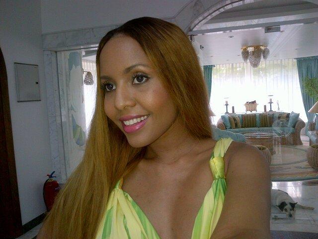 JACQUELINE NTUYABALIWE, former miss Tanzania